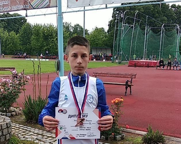 Nikola Mijailović treći u trci na 2.000 metara