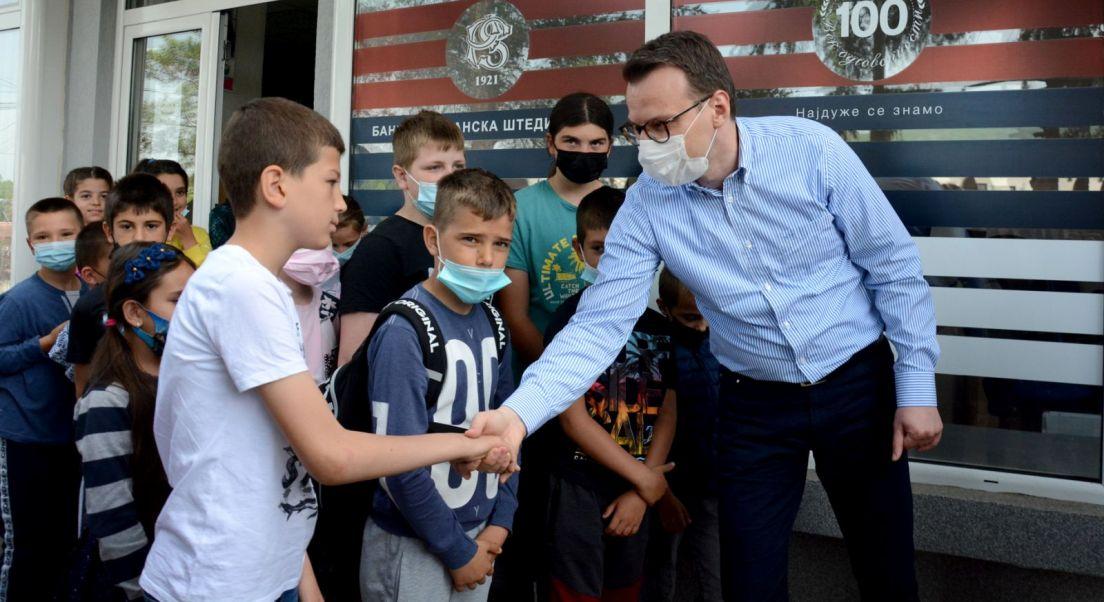 Petković u Leposaviću: Država Srbija je dovoljno jaka da može da pomaže naš narod na KiM