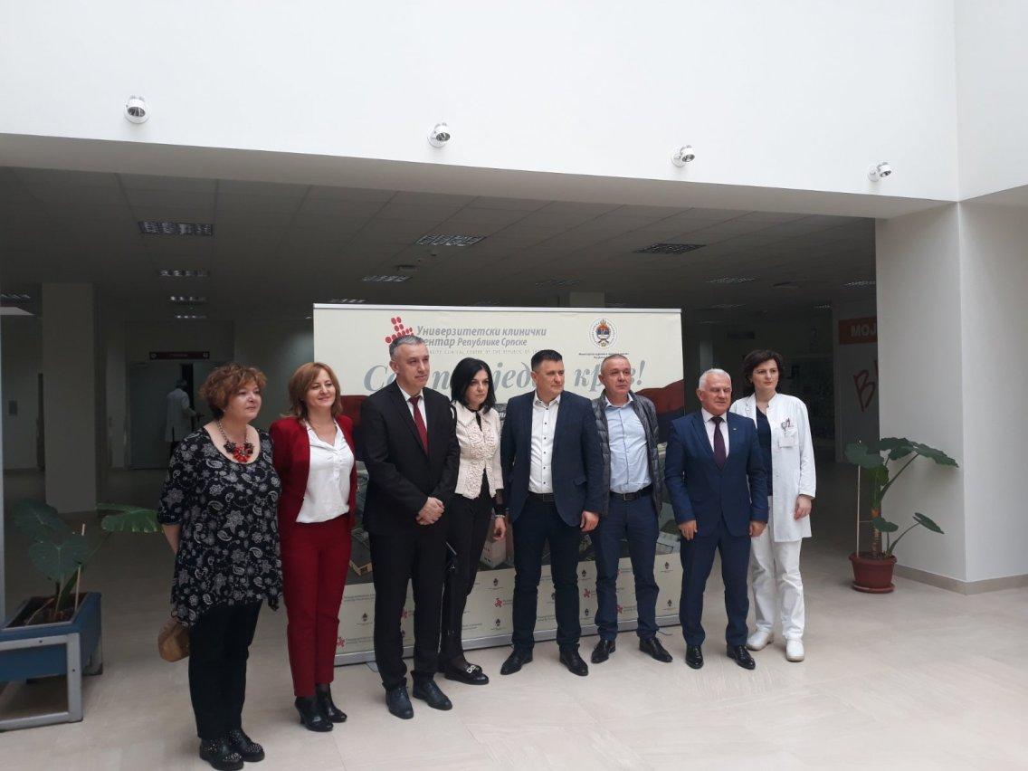 Delegacija lekara iz  KBC Kosovska Mitrovica završila posetu RS