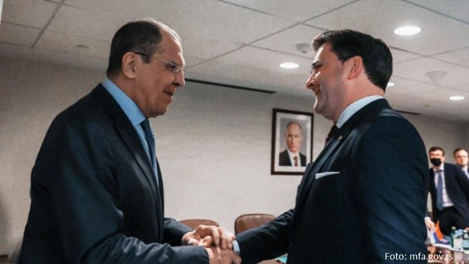 Selaković i Lavrov o krizi na KiM: Dalja podrška Rusije