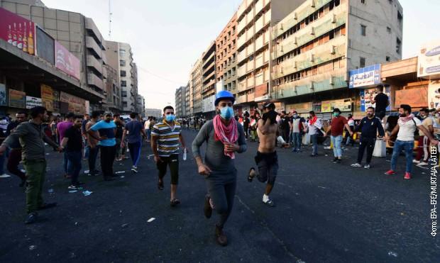 Demonstranti blokiraju puteve u Iraku