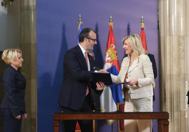 Joksimović i Fabrici o predstojećoj dinamici pregovora sa EU
