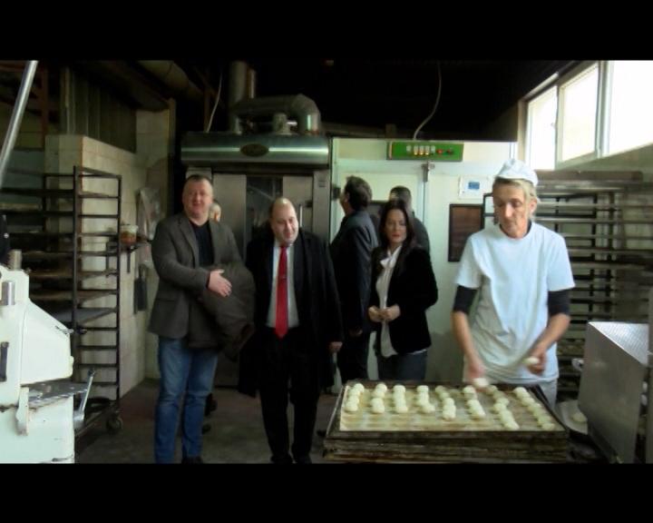 Pekari u Zubinom Potoku uručena donacija Unije pekara Srbije