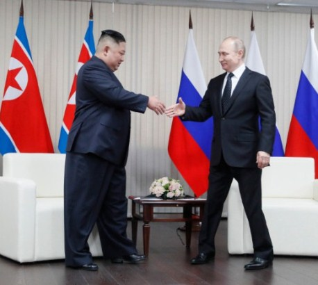 Putin i Kim prvi put oči u oči