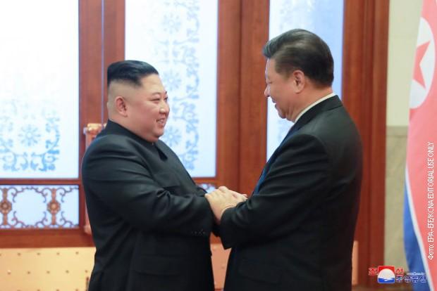 Si Đinping u Severnoj Koreji