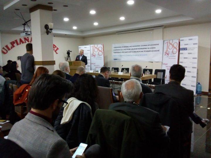 Konferencija o nestalim i ubijenim novinarima