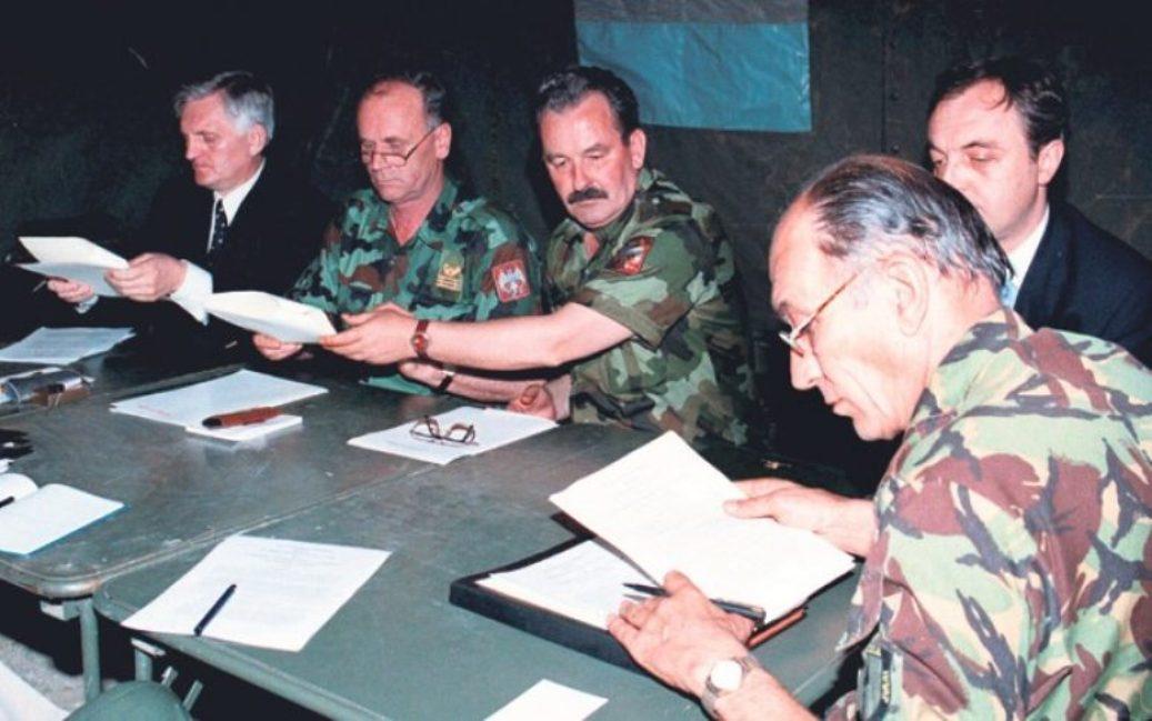 Kumanovski sporazum, dokument mira bez proglašene kapitulacije
