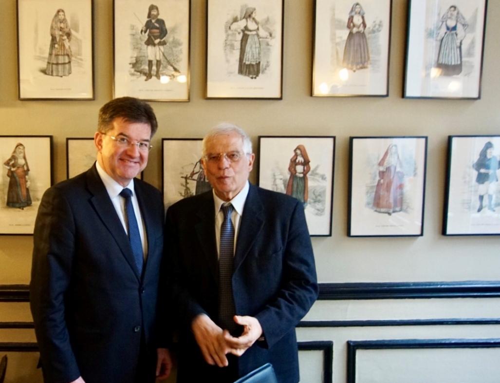 Borelj: Lajčak će biti odličan predstavnik EU za dijalog