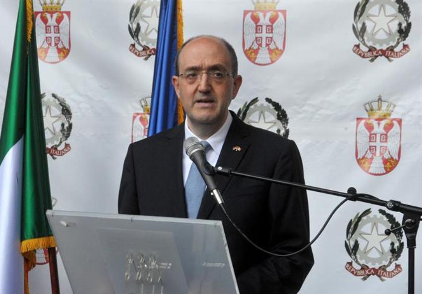 Ambasador Lo Kašo: Italija je uz Srbiju