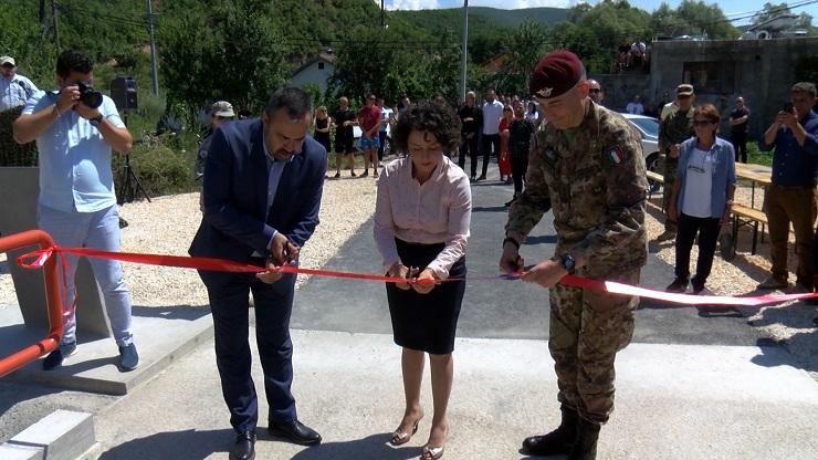 Ibarski Kolašin: Otvoren most u selu Jagnjenica