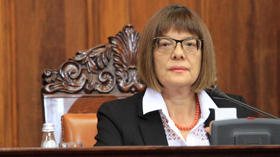 Gojković s predsednicima parlamenata JI Evrope i V4