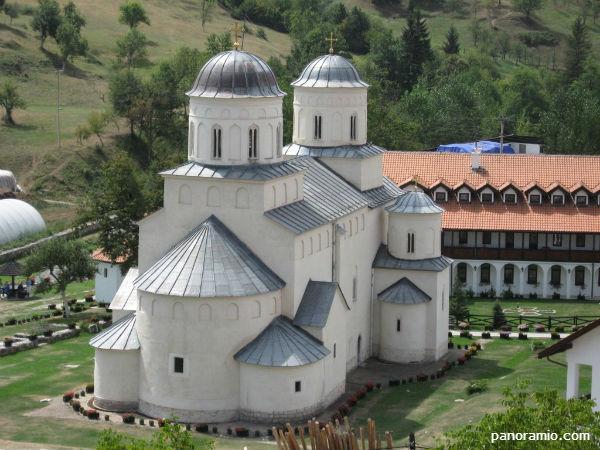 Godfri posetio manastir Mileševa