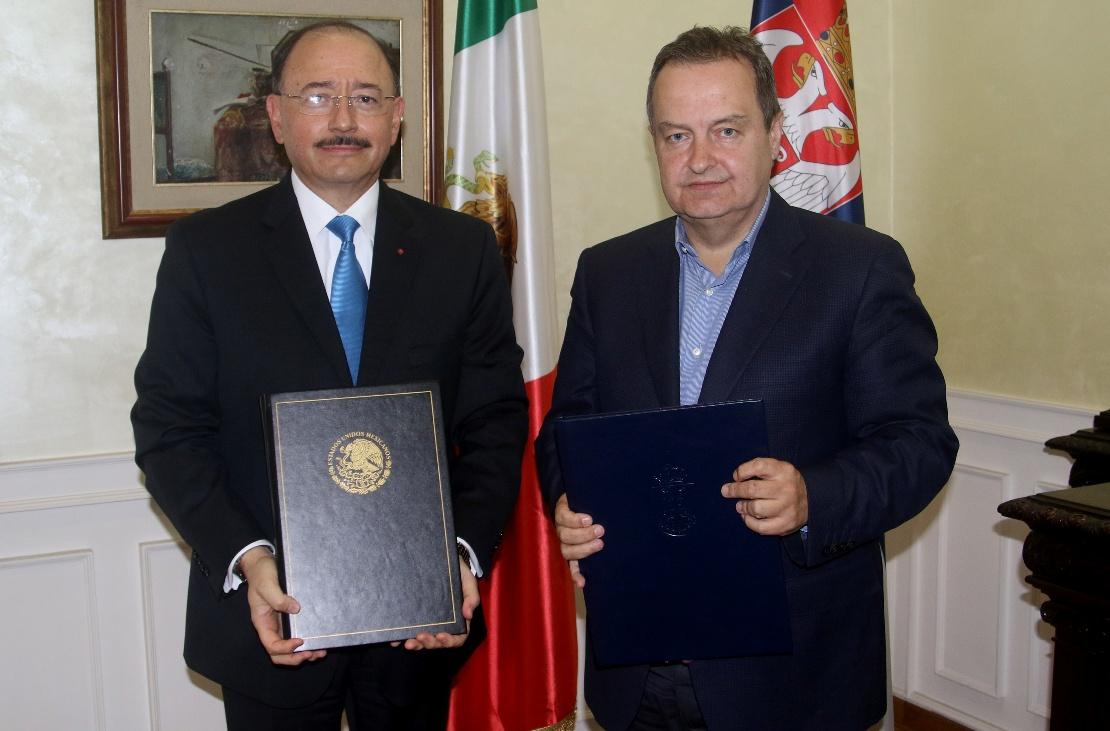 Dačić zahvalio ambasadoru Meksika na stavu po pitanju KiM