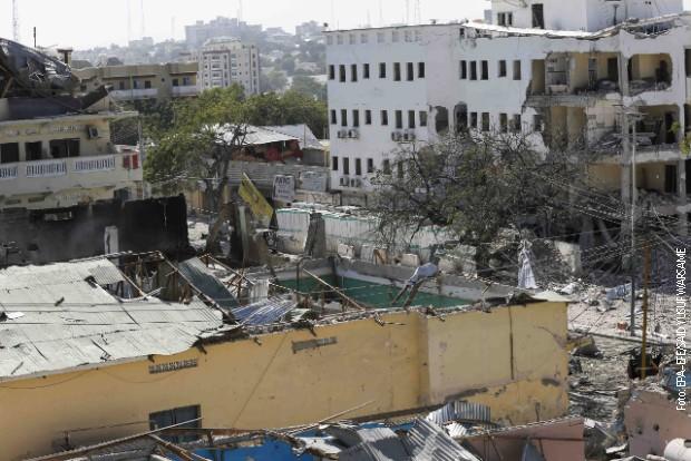 Napad u Mogadišu okonačan, teroristi ubijeni