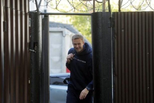 Navaljni pušten iz zatvora