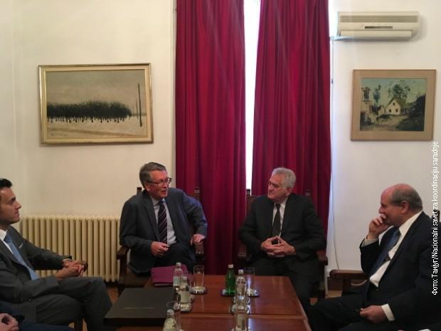 Nikolić primio Čepurina u oproštajnu posetu