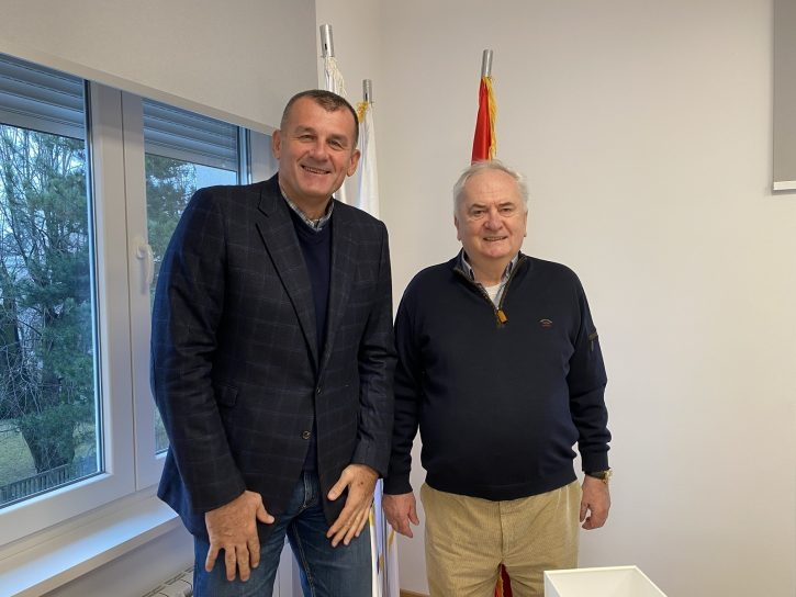 Maljković ugostio Zorana Savića u olimpijskoj kući