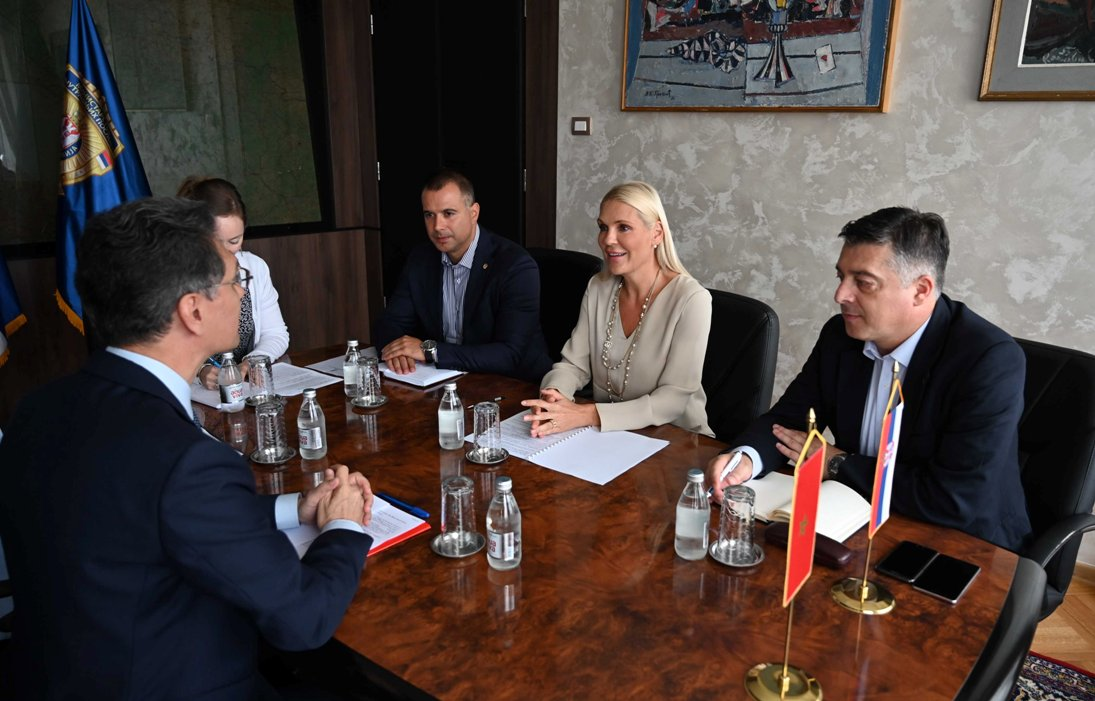 Popović Ivković sa ambasadorom Maroka o Kosovu i Interpolu