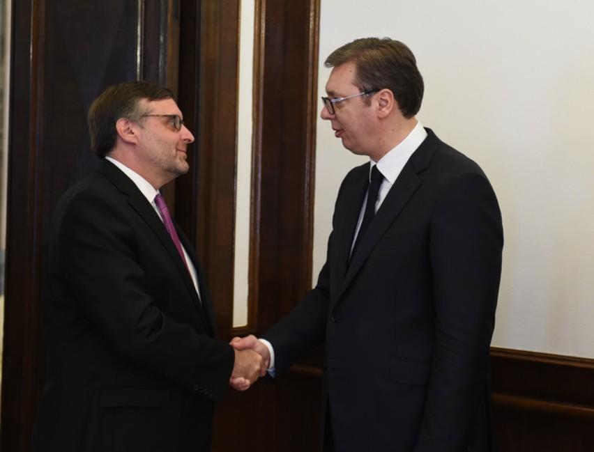 Vučić s Palmerom - u fokusu