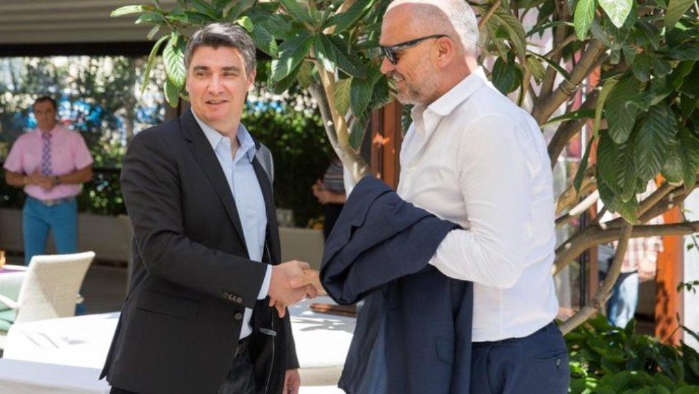 Milanović u privatnoj poseti kod Edija Rame