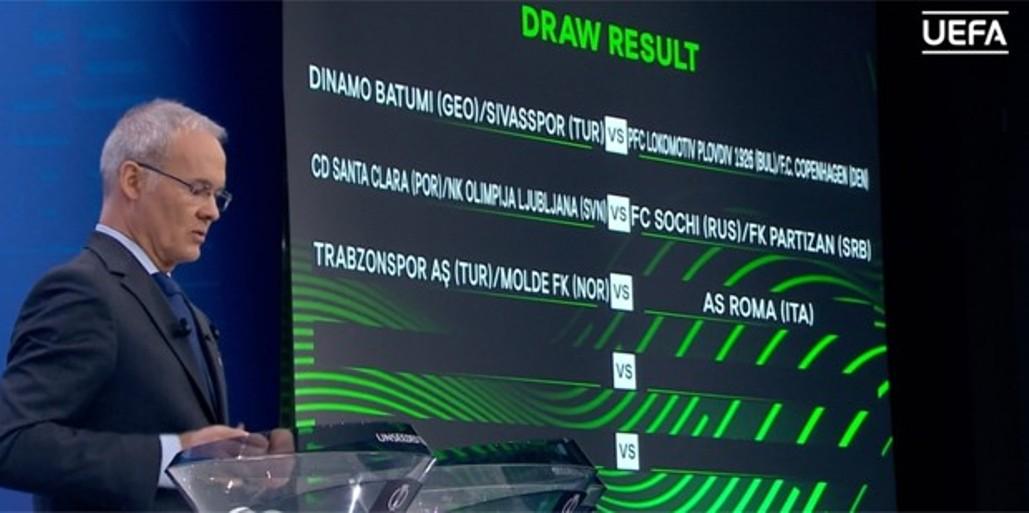 Liga konferencija – Partizan može u Ljubljanu, Voša u Istanbul, Čukarički u Bazel