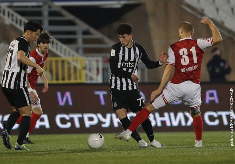 Partizan pobedom otvorio prolećni deo Superlige
