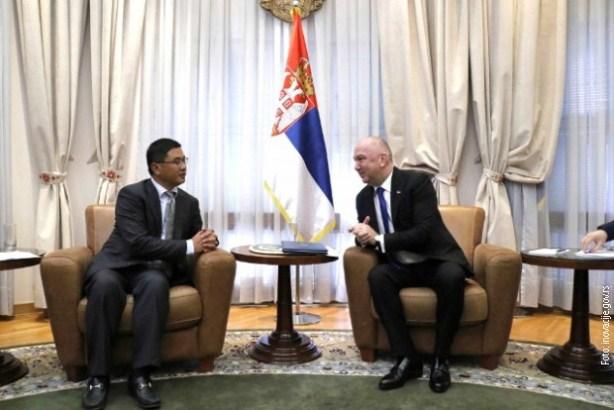 Popović sa predsednikom kompanije CRBC o izgradnji industrijskog parka