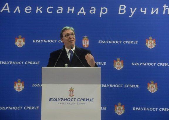 Nastavak kampanje Budućnost Srbije, Vučić danas u Raškom okrugu
