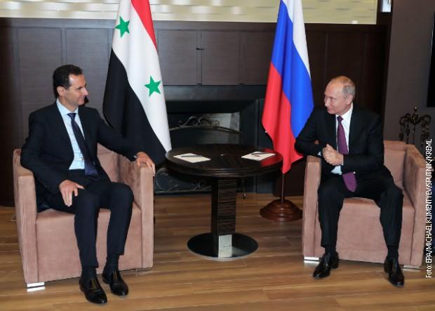 Putin poslao pismo Asadu