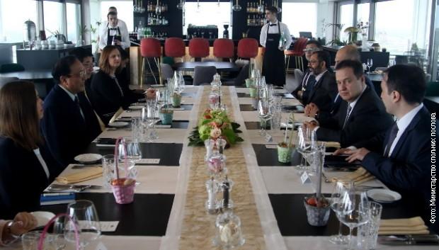 Dačić: Jačanje saradnje sa zemljama Azije i Pacifika