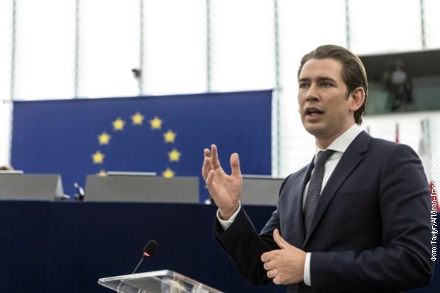 Kurc najavljuje kontrapredlog planu Merkelove za obnovu EU