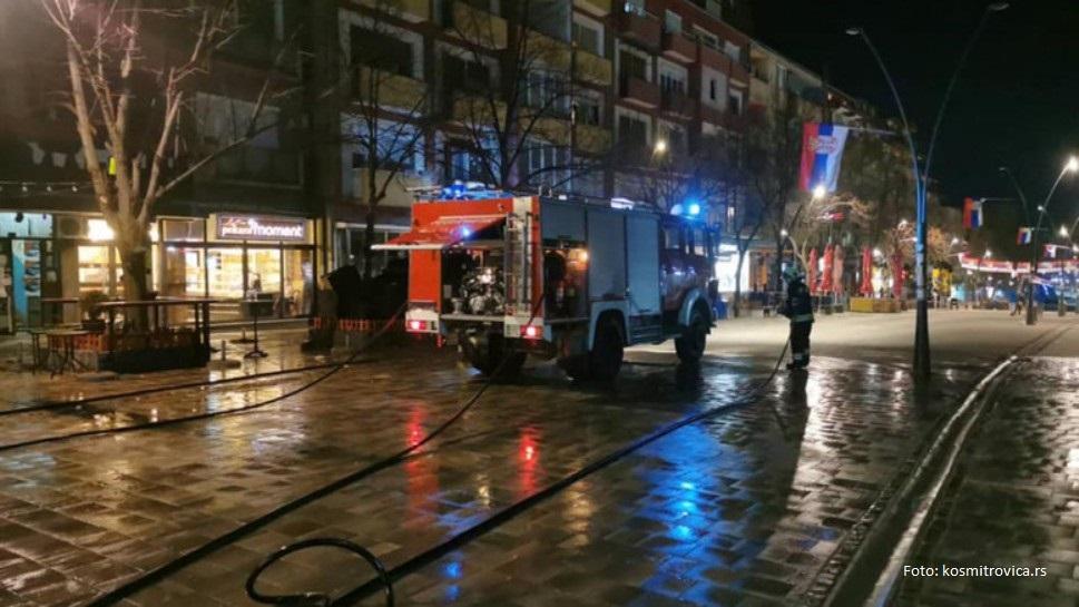Počelo pranje i dezinfikovanje gradskih ulica u Severnoj Mitrovici