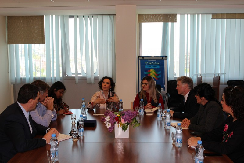 Ministarka Hodžić dočekala delegaciju Univerziteta Kembridža i Koledža UBT