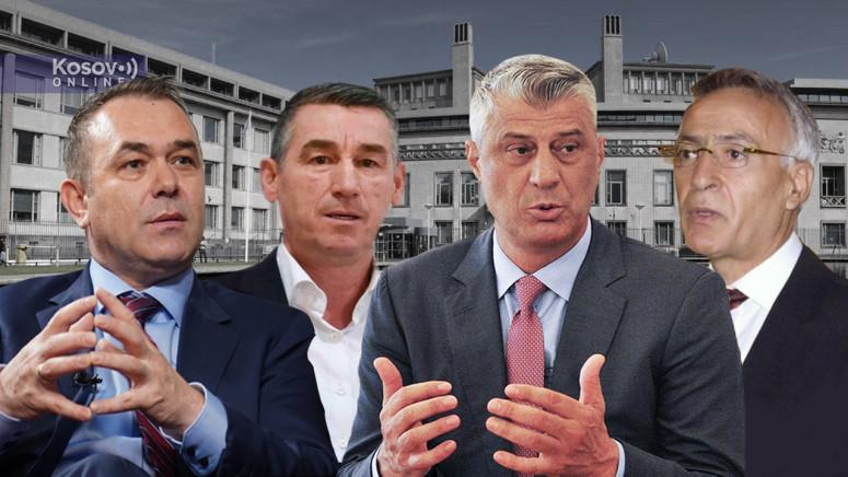 Zabranjene posete Tačiju i drugim liderima OVK u Hagu