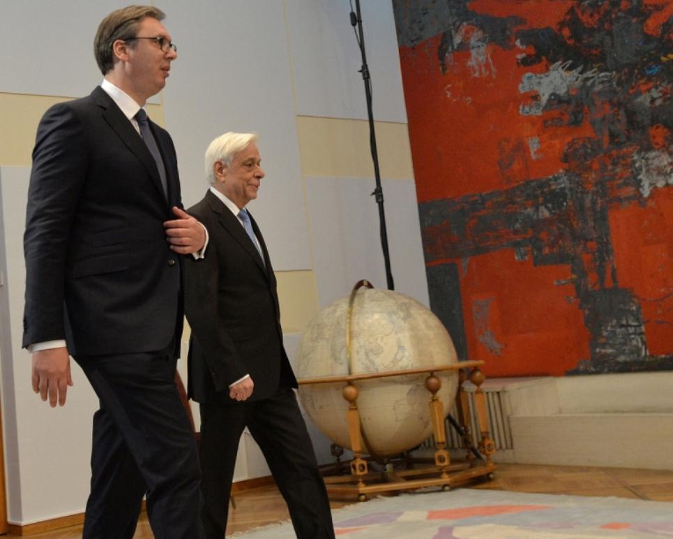 Vučić danas sa predsednikom Grčke
