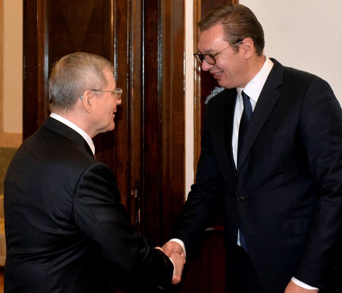 Vučić i Čajka o saradnji Srbije i Rusije