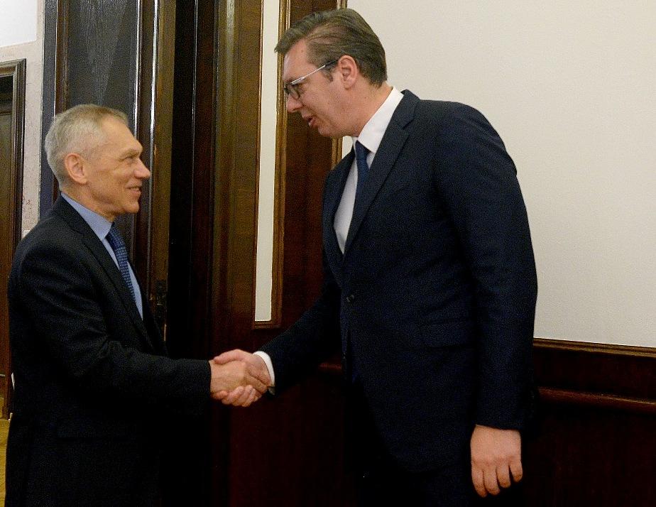 Vučić se sastao sa Bocan-Harčenkom