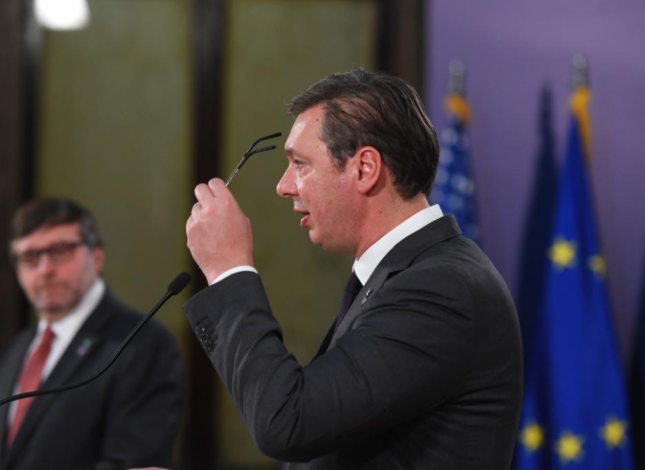 Vučić: 96 odsto Srba s KiM pokazalo ko je izdajnik, a ko ne