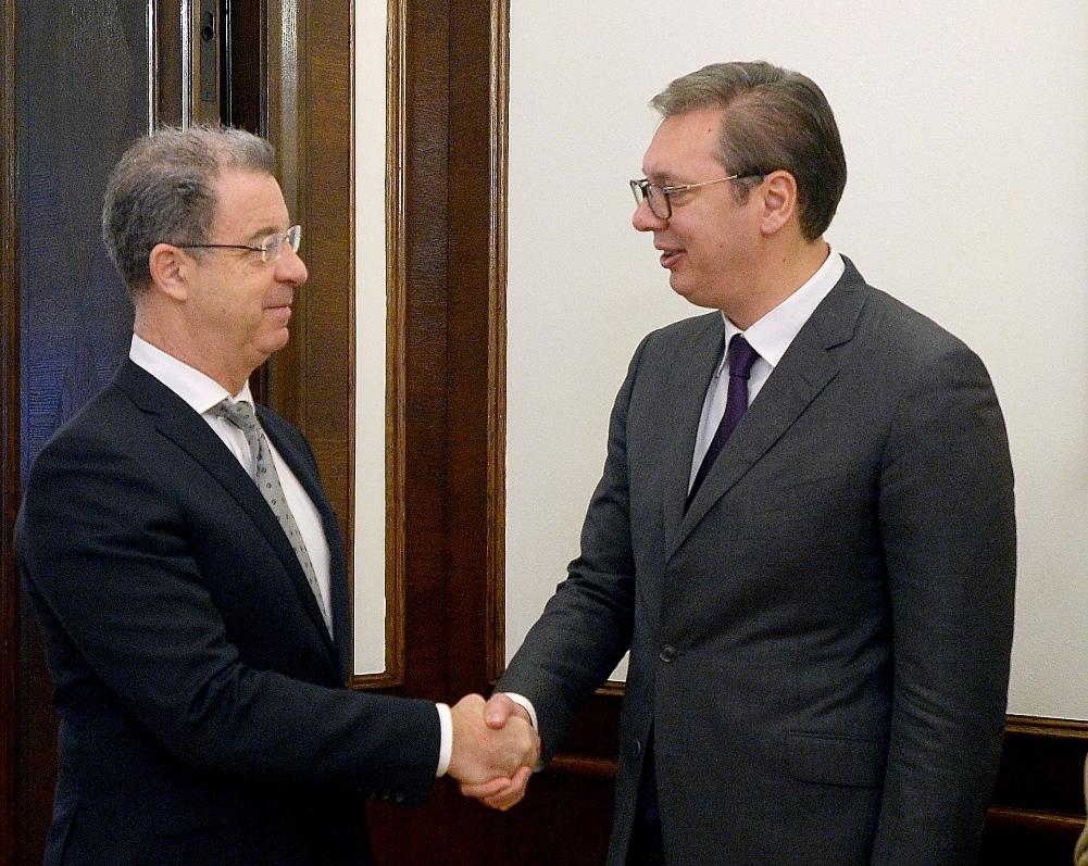 Vučić sa Bramercom: Saradnja dobra i nastaviće da jača