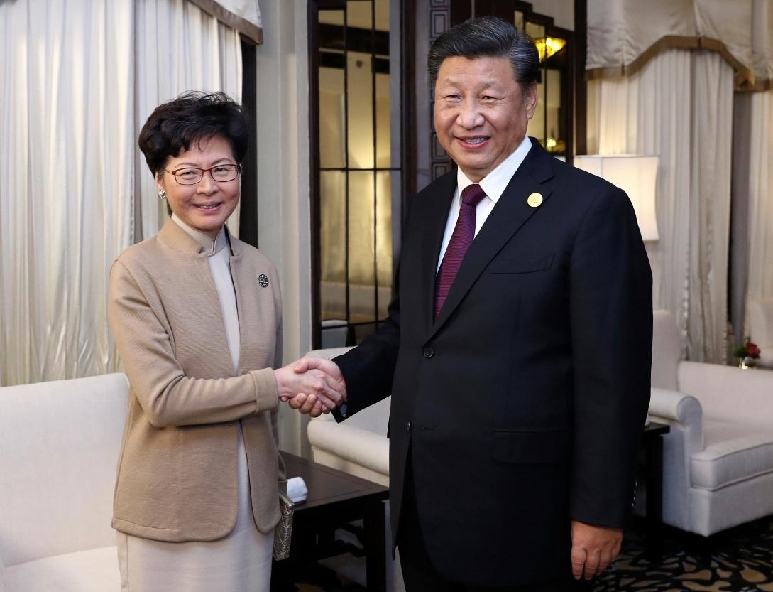 Hongkong: Sastanak Sija sa Keri Lam