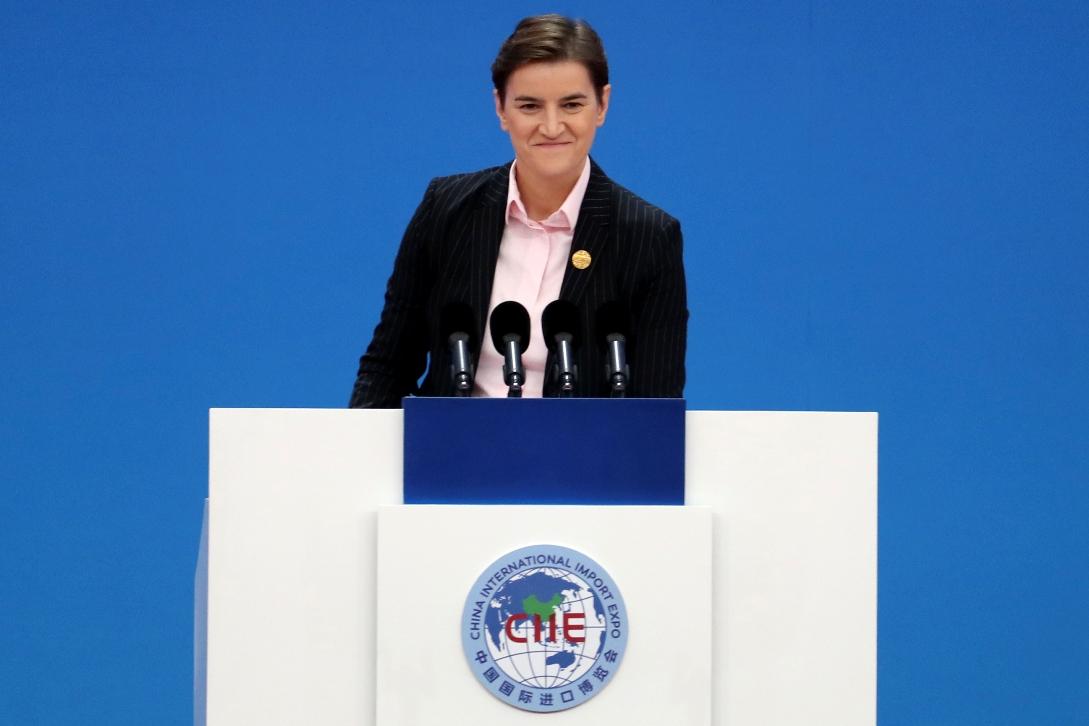 Brnabić: Put Srbije - mir, saradnja i zajednički prosperitet
