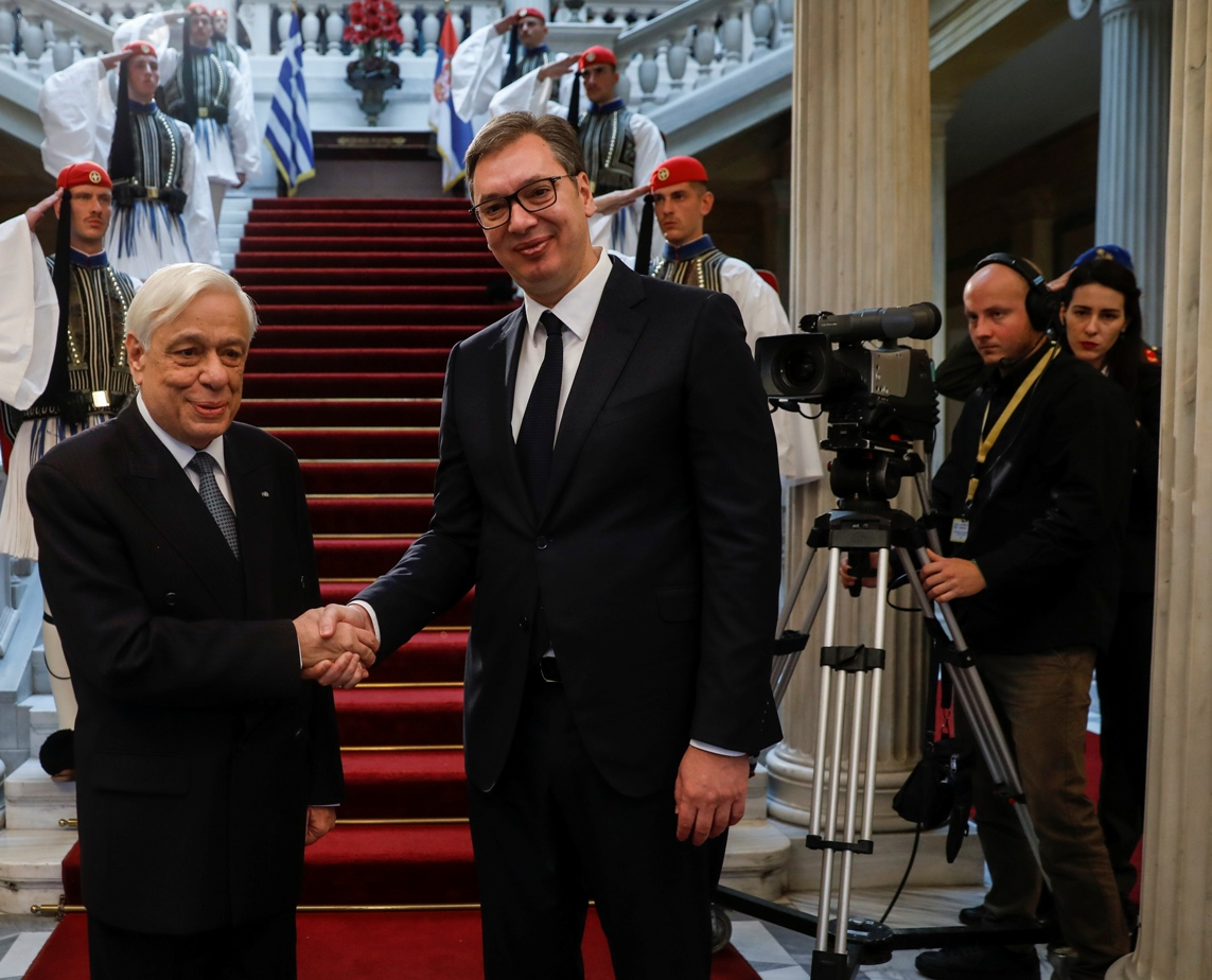 Vučić sa Pavlopulosom: Jedni uz druge kada je najteže