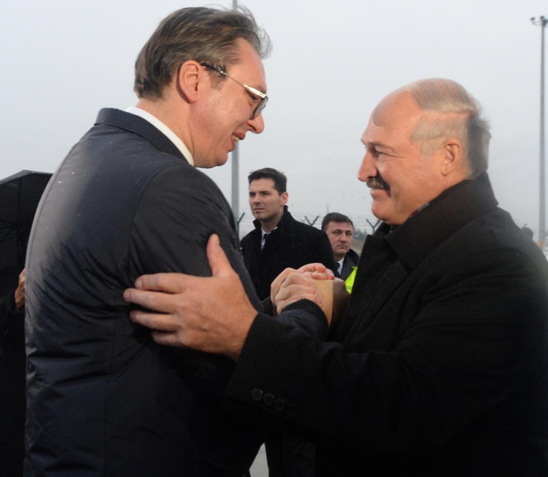 Lukašenko nastavlja posetu Srbiji, sastanak sa Vučićem