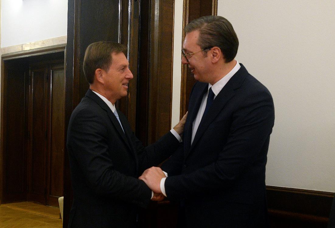 Vučić sa Cerarom o bilateralnoj saradnji i procesu evrointegracija Srbije