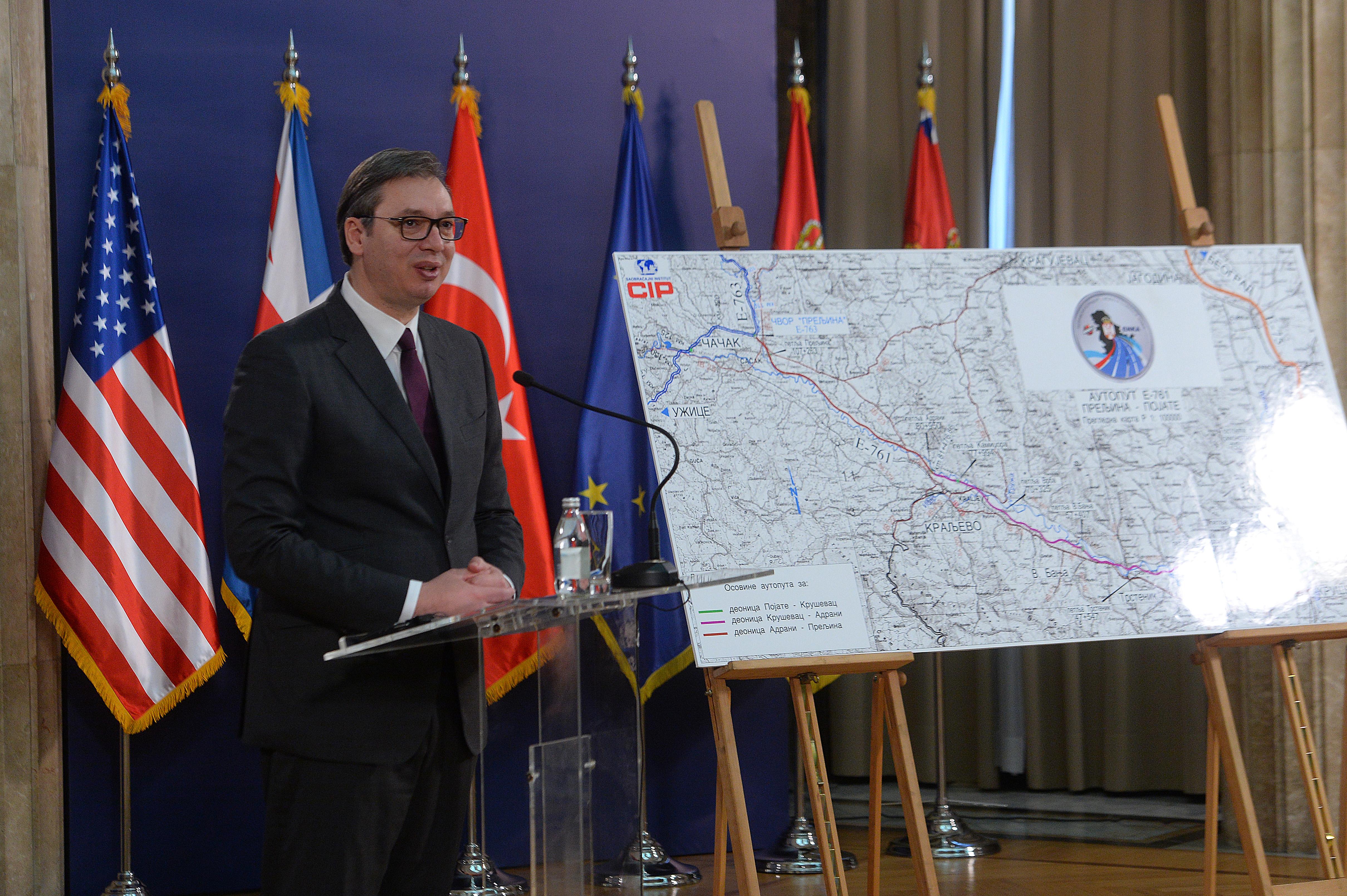 Vučić: Za manje od četiri godine gotov ceo Moravski koridor