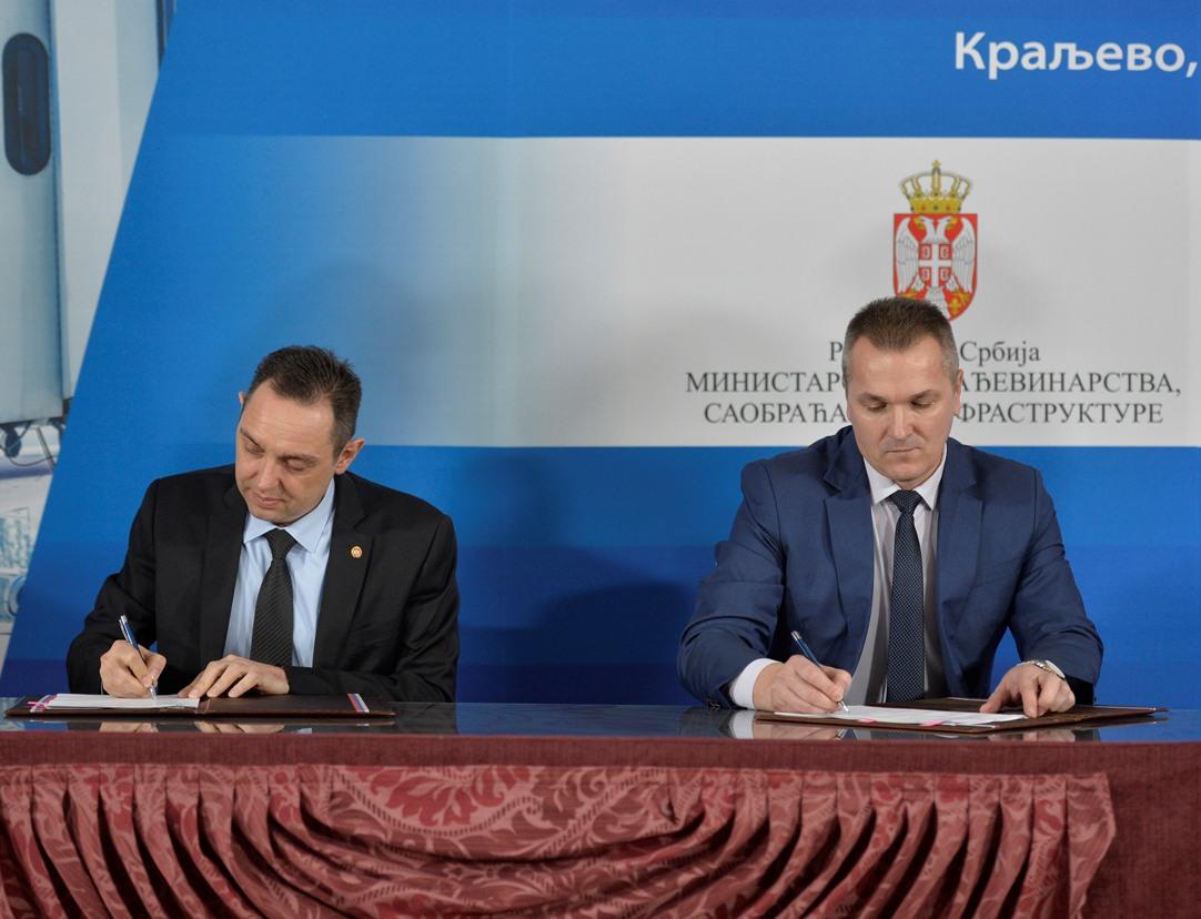 Potpisan ugovor za korišćenje Lađevaca za civilni saobraćaj