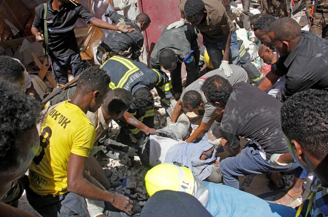 Snažna eksplozija u Mogadišu, sedam žrtava