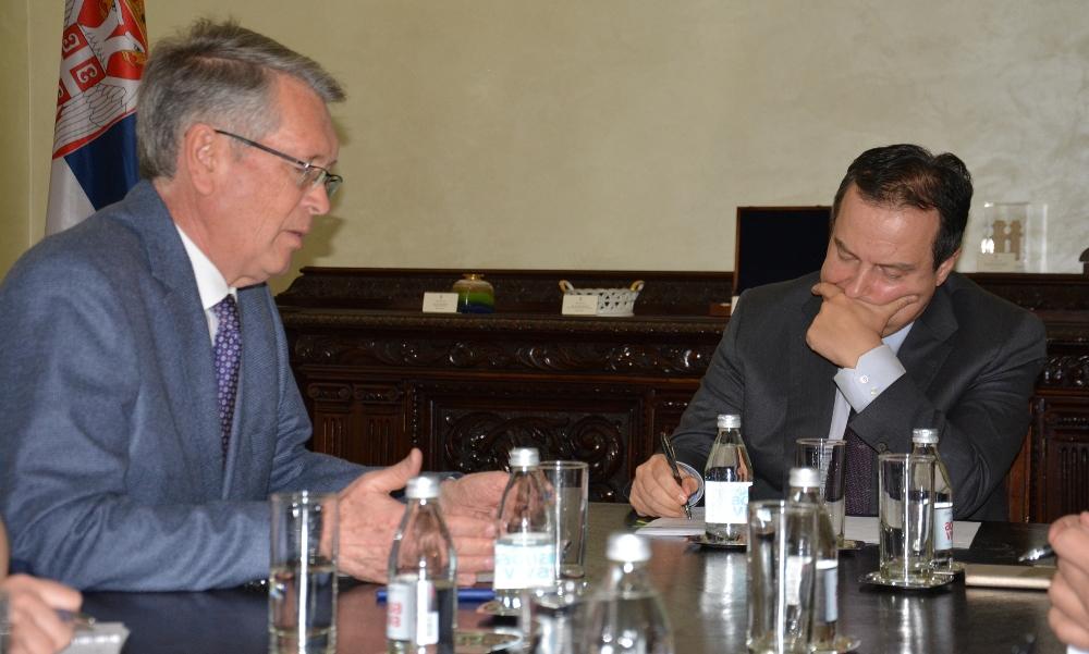 Dačić i Čepurin o poseti našeg ministra Ruskoj Federaciji
