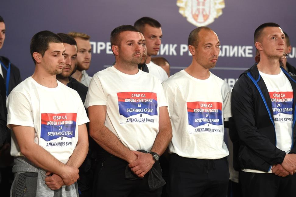 Srbi sa KiM: Ostvarili smo cilj,stigli smo da podržimo Vučića