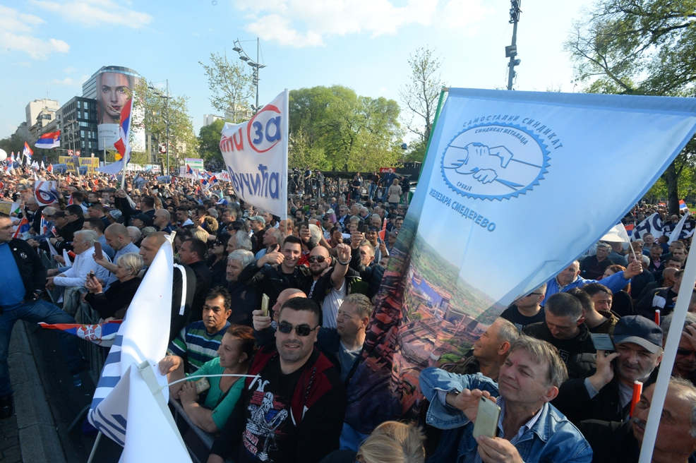 Stefanović: Više od 120.000 ljudi dolazi u BG na miting